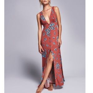 Free People Other Days floral maxi - M